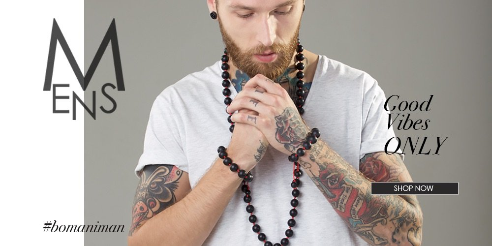Mens Jewellery | Elisha Francis London