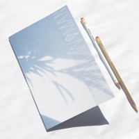 Bomani Woman Notebook & Pencil Set