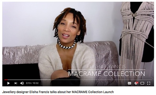 Elisha Francis Macramé Video