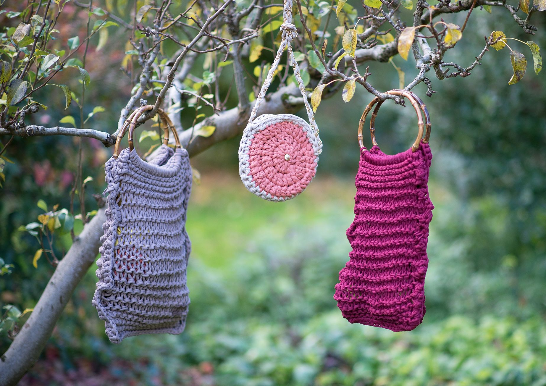 forest magic handbags by Elisha Francis