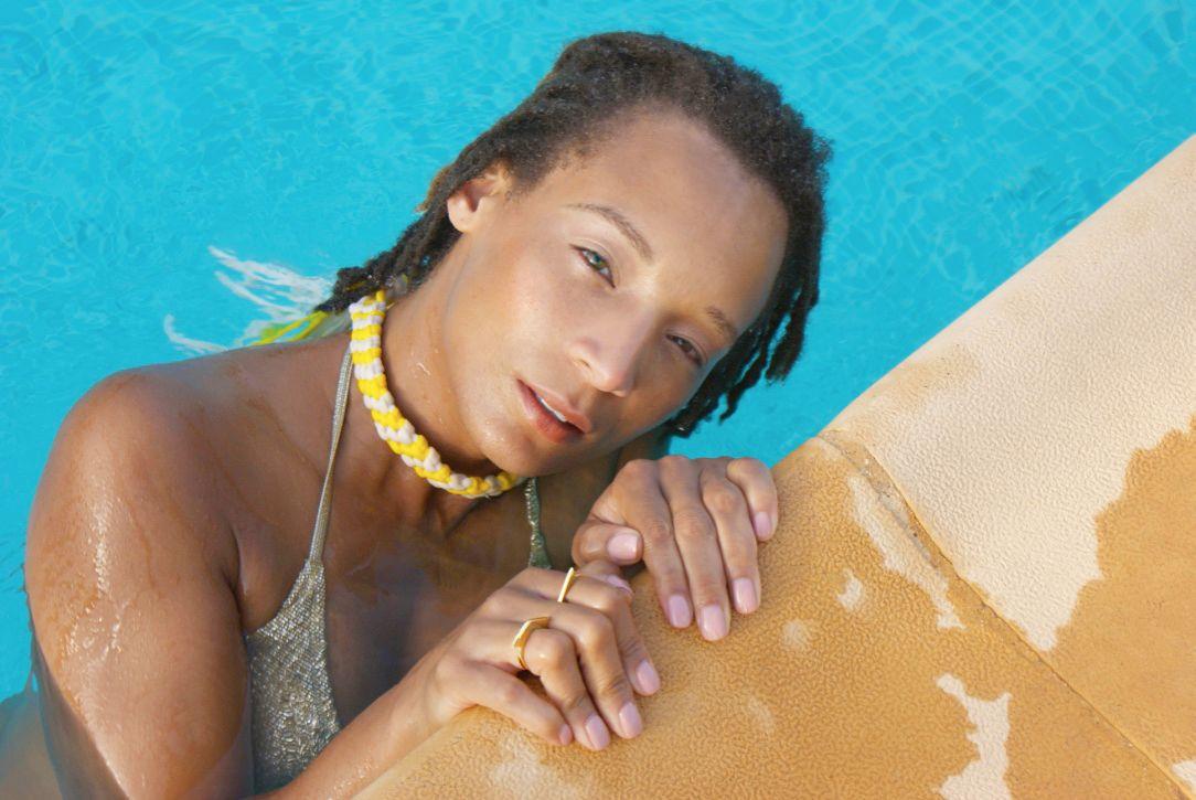Elisha Francis Ibiza photoshoot