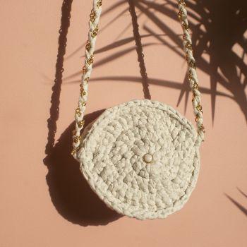 Round Sand Handbag