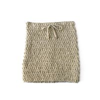 COWRIE   Gold Crochet Skirt
