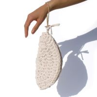 OYSTER | Ivory Clutch