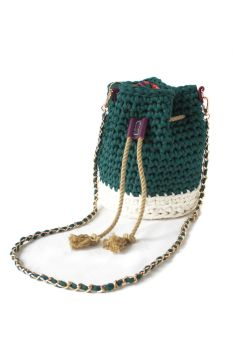 Treasure Bucket Bag - Green