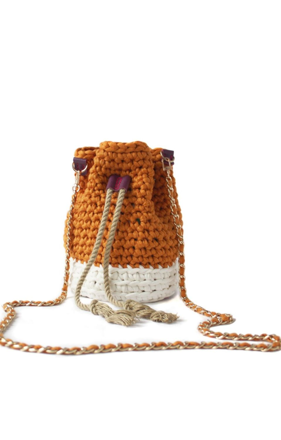 Treasure Bucket Bag - Yellow