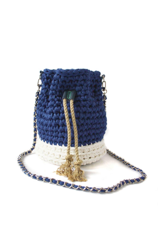 Treasure Bucket Bag - Blue