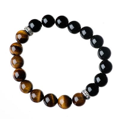Tiger Eye Bracelet, onyx bracelet, elisha francis, gemstone jewellery, gemstone bracelet