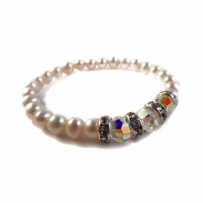 freshwater pearl bracelet, pearl bracelet, bridal jewellery, wedding jewellery, brides jewellery, elisha francis