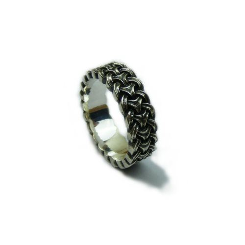 viking knot ring by russell lownsbrough