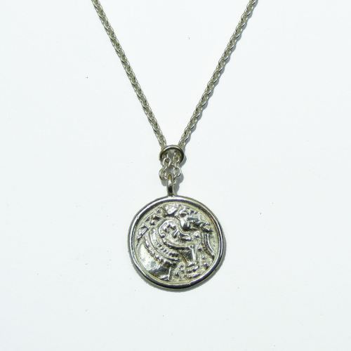 Elephant Coin Pendant