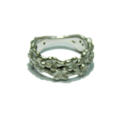 Silver Sakura Ring