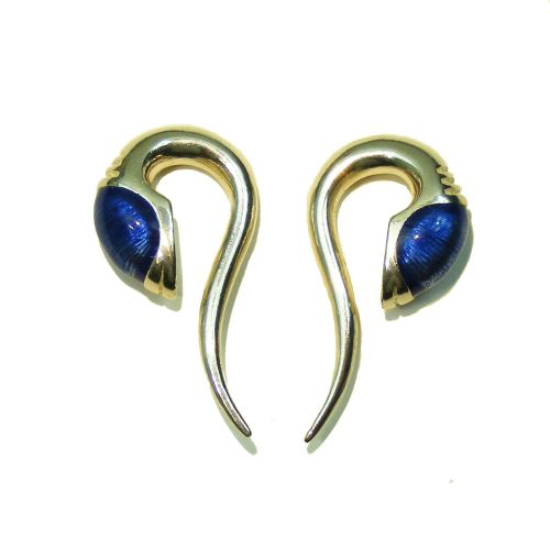Zorg ear weights, silver, ear hole 14 mm