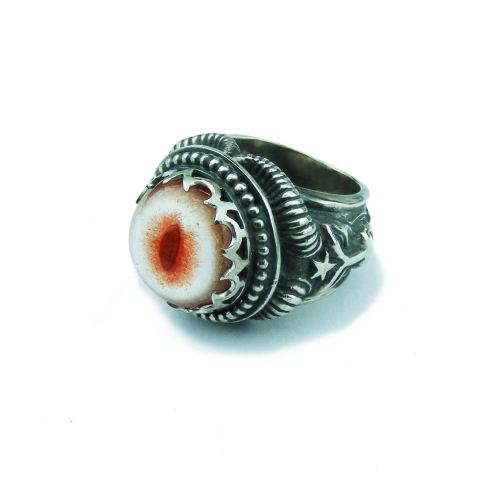 Baphomet Eye Ring