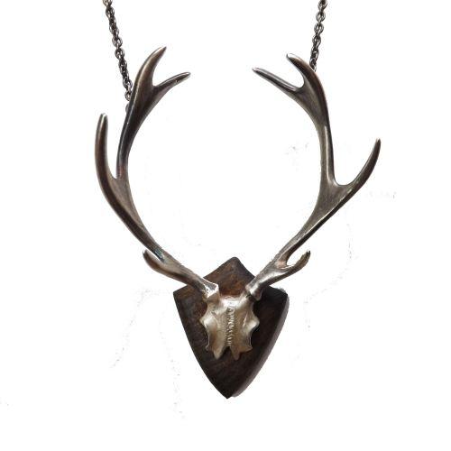Oh Deer Trophy Necklace