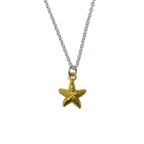Stout Starfish Pendant
