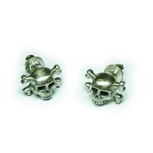 Pirate's Memento Mori Drop Earstuds