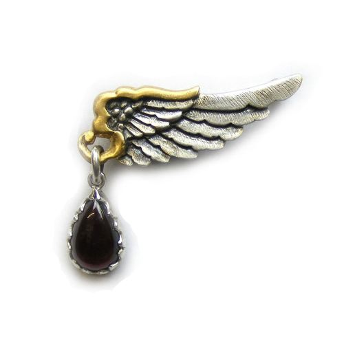 Mercury Wing Brooch