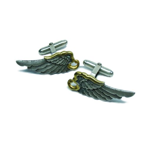 Mercury Wing Cufflinks