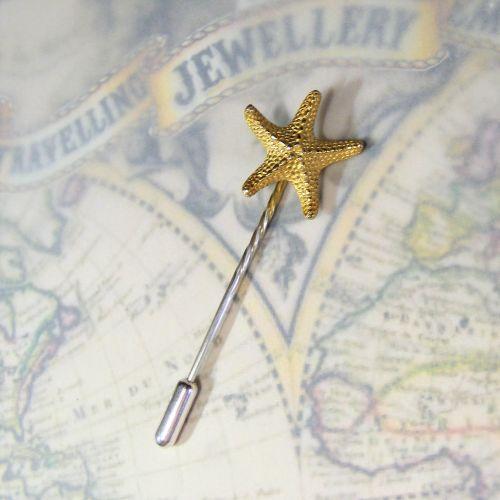 Large Starfish Lapel Pin