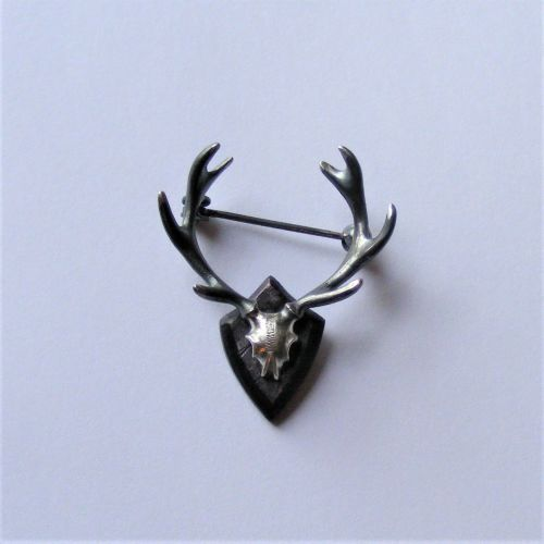 Miniature Stag Trophy brooch
