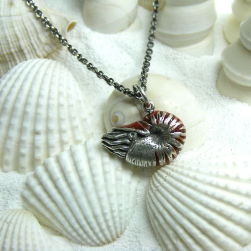 Nautilus Pompilius Necklace