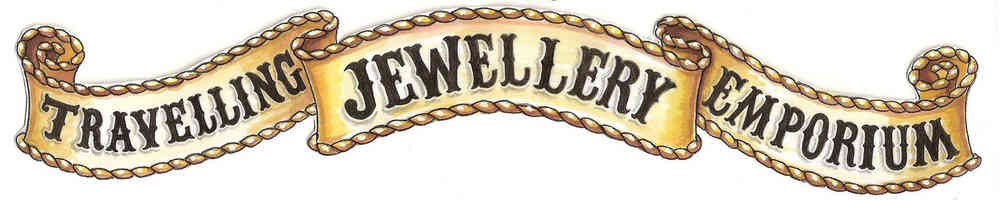the Travelling Jewellery Emporium, site logo.