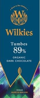 Wilkies Tumbes 89% Organic Dark Chocolate