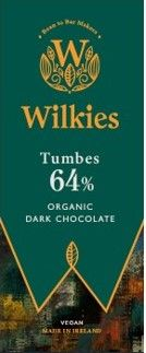 <!-- 005 --> Wilkies Tumbes 64% Organic Dark Chocolate