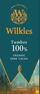 Wilkies 100% Organic Dark Chocolate