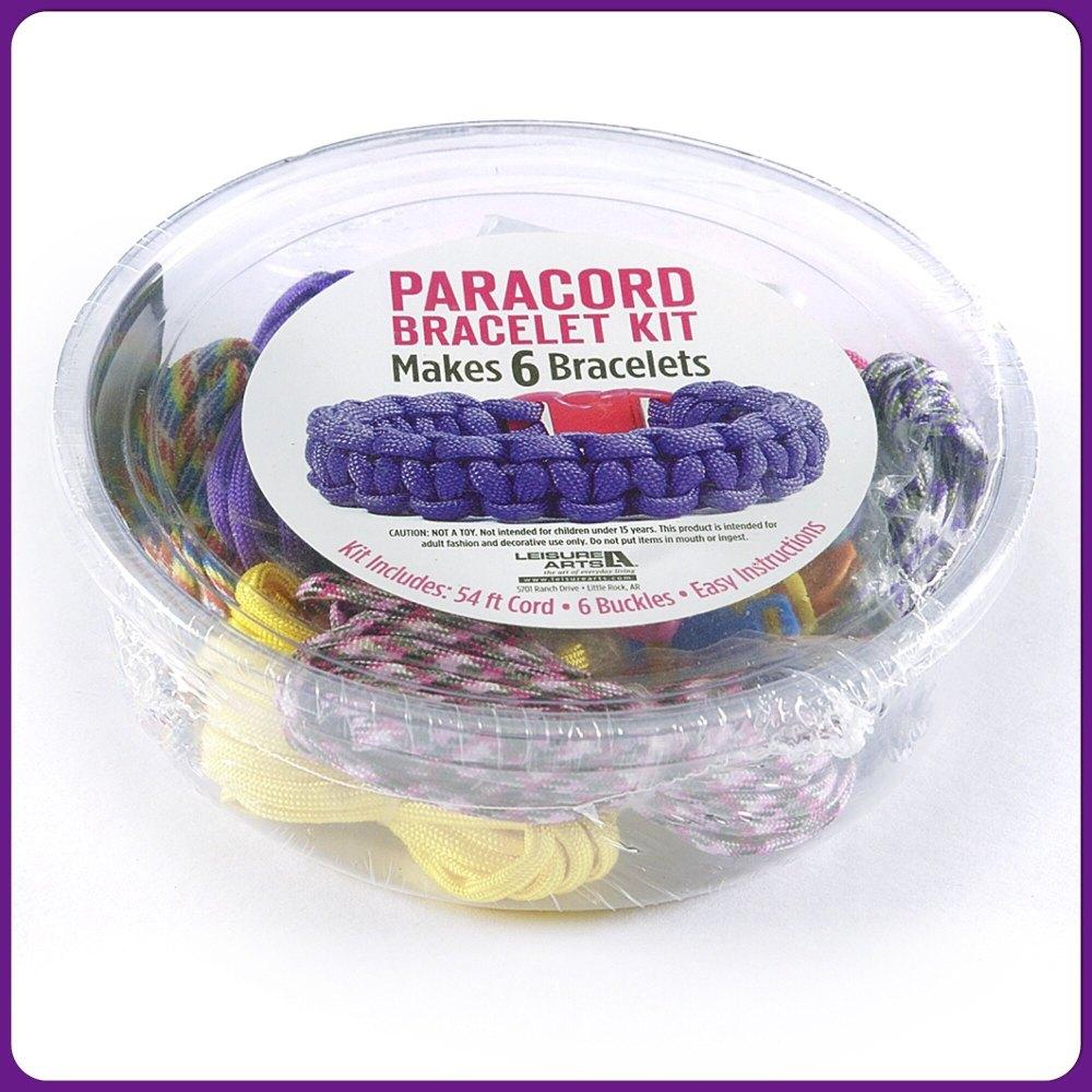 PARACORD - Girl Paracord Kit. Leisure Arts