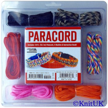 PARACORD Bracelet Kit. Leisure Arts