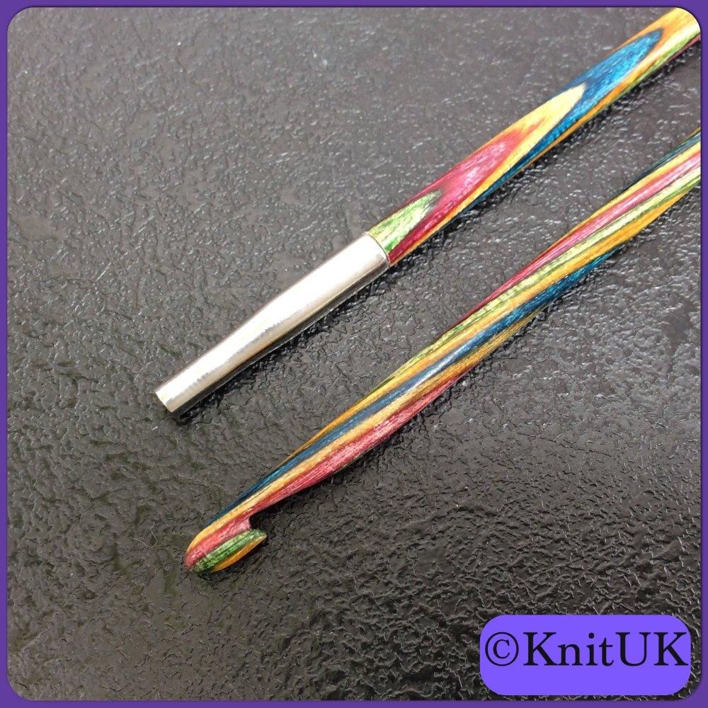 KnitPro Symfonie Wood Afghan / Tunisian Crochet Interchangeable Hook. unit