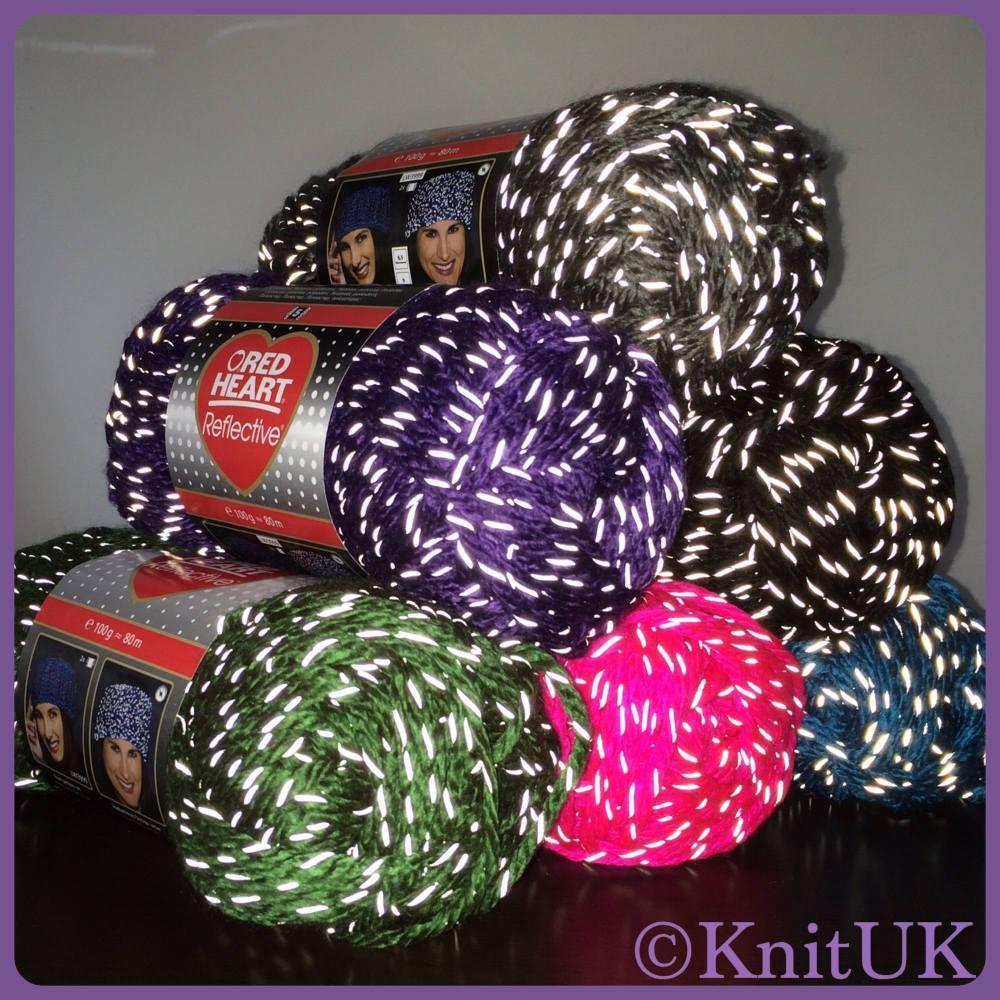 RH reflective yarn balls