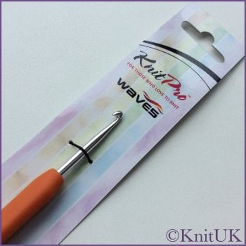 KnitPro Waves Single Ended Crochet Hook. price starts at
