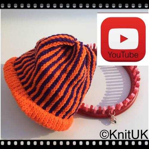 KnitUK halloween hat kit pic video
