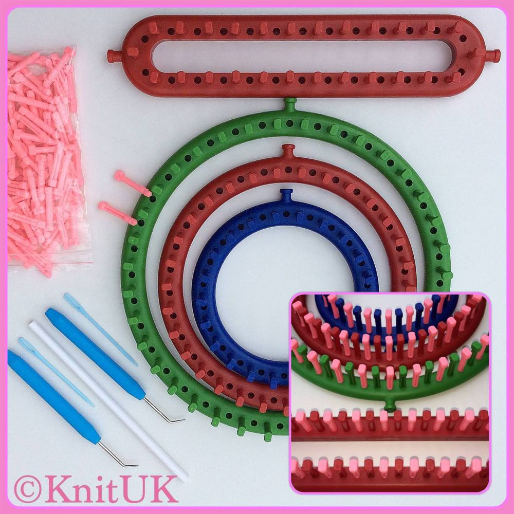 Knitting Loom Set : Shop for knitting loom set in uk knit with round and