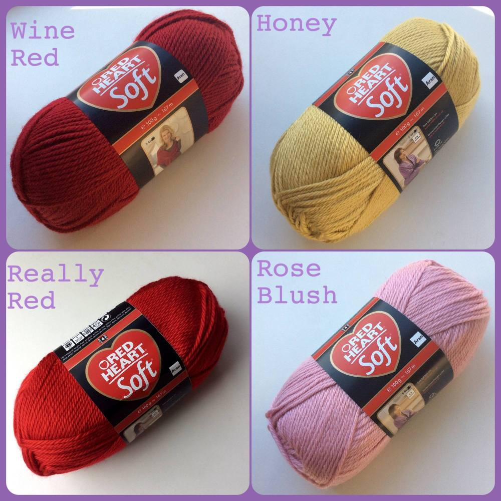 rh soft colours really red
