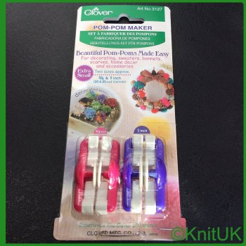 Pompom Maker -  Extra Small (Clover) 2 units