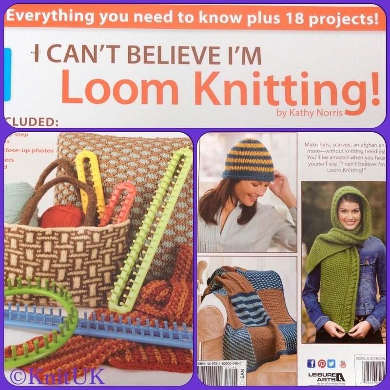 LA I cant believe Im loom knitting 3 pics
