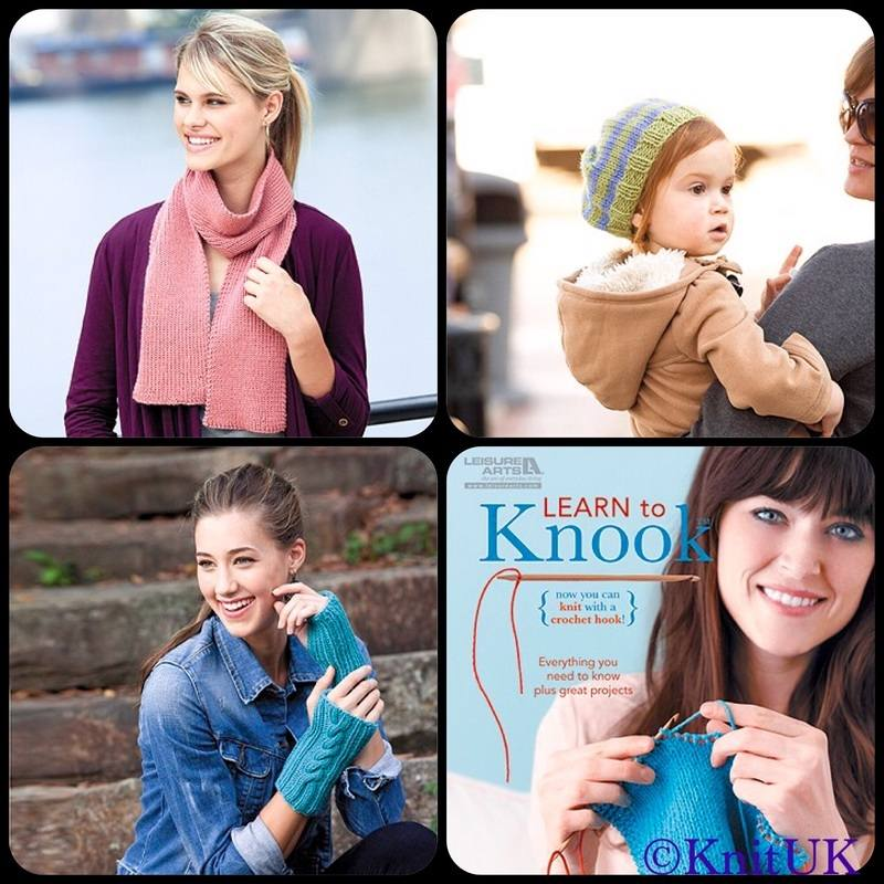 LA learn to knook book projects