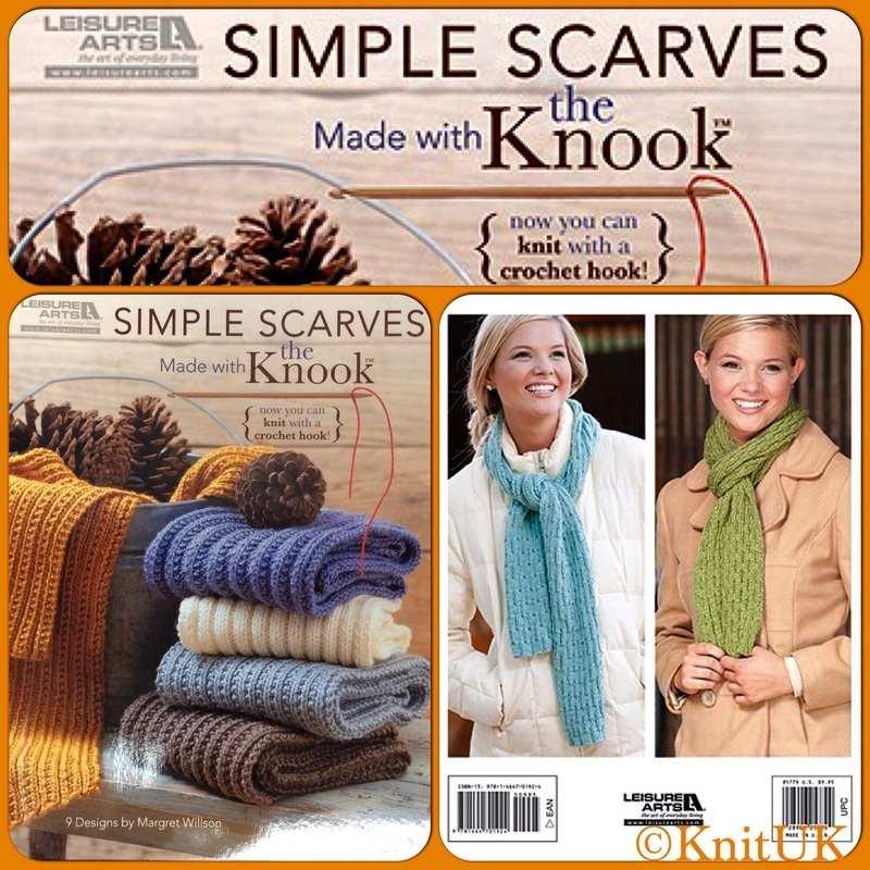 LA scarves with knook f n b