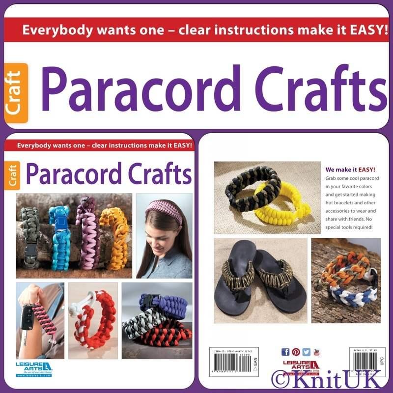 LA paracord crafts 3 pics