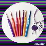 Crochet Hook with Plastic handle. unit price