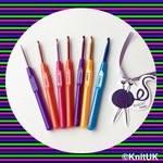 Crochet Hook with Plastic handle. unit price