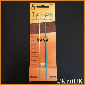 Pony Knooking Set. 2.0 & 3.0mm (Aluminium Knooks)