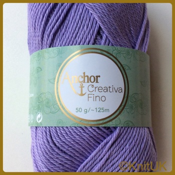 Anchor Style Creativa Fino (50g). 100% Cotton. 4ply