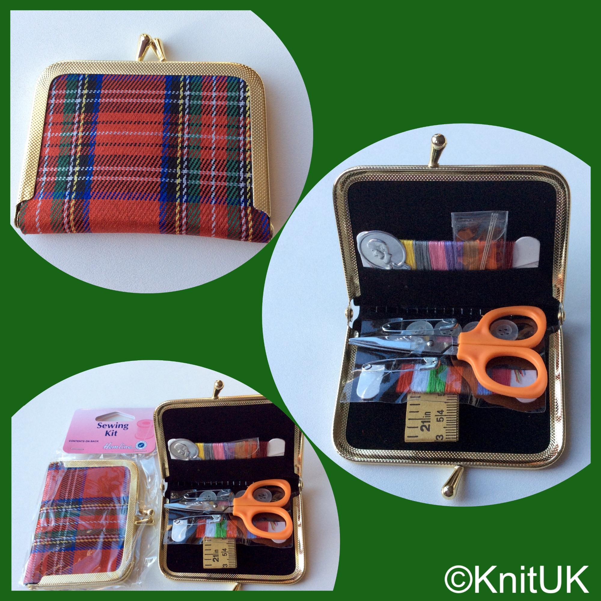 Hemline purse sewing kit 3pics