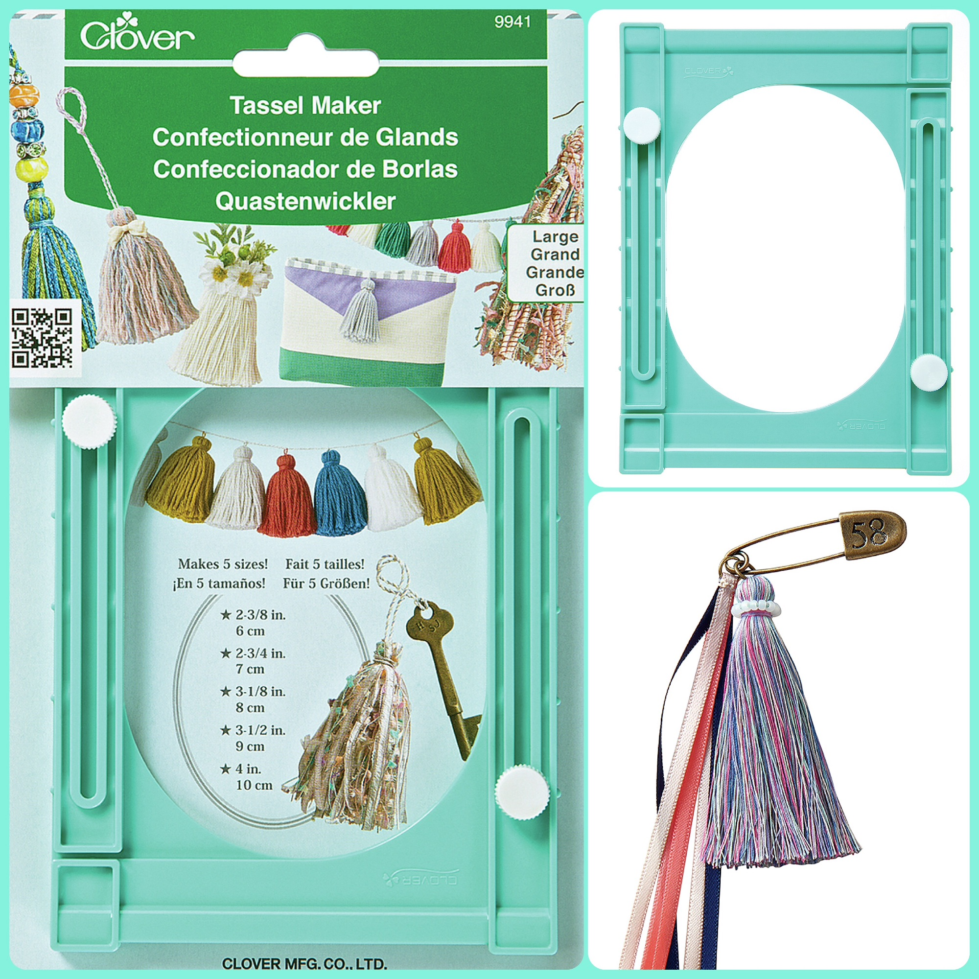 Clover tassel maker large
