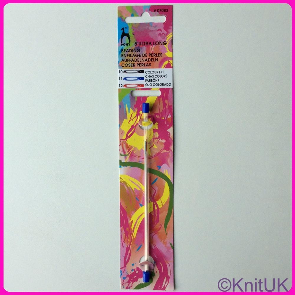 Colour-coded Eye Needles - Beading Ultra Long 10 / 11 / 12